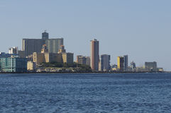 Havana. Cityscape of Havana with the Malecon, Cuba Stock Photo