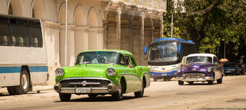 havana Classic American cars Stock Photos