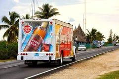 Havana Club-LKW in Kuba lizenzfreie stockfotografie