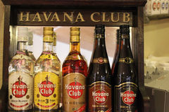 Havana Club, the real Taste of Cuba Stock Images