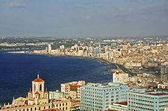 Havana coastline Stock Images