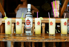 Havana coctail - alcohol drinks Stock Photography