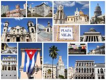 Havana collage Stock Photography