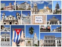 Havana collage Stock Photography