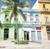 Havana colonial buildings. Stock Images