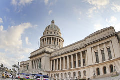 Havana, cuba. The capitolio building in the centre of havana, cuba Royalty Free Stock Photos