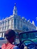Havana Cuba anziana Immagine Stock Libera da Diritti