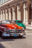 HAVANA, CUBA - APRIL 1, 2012: Cadillac Series 62 taxi cabriolet Stock Photo