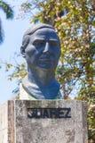 HAVANA, CUBA - APRIL 1, 2012: Monument of Mexico liberator Mexic Royalty Free Stock Image