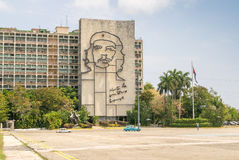 HAVANA, CUBA - APRIL 11, 2016: National monument of Ernesto Che Stock Photo