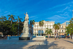 HAVANA, CUBA - APRIL 2, 2012: Statue of Jose Marti, Havana, Cuba Stock Photos