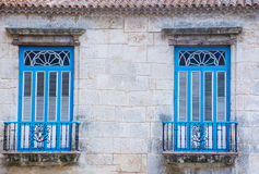 Havana Cuba architectural details Royalty Free Stock Photos