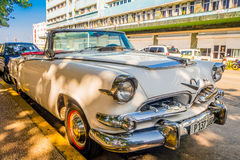 HAVANA, CUBA - AUGUST 30, 2015: Old classic Royalty Free Stock Photo