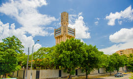 HAVANA, CUBA - AUGUST 30, 2015: Russian embassy in Stock Images