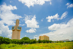 HAVANA, CUBA - AUGUST 30, 2015: Russian embassy in Royalty Free Stock Images