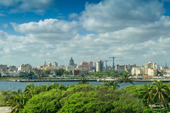 Havana, Cuba. City panoramic view Stock Photos