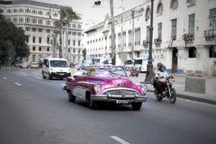 Havana Cuba Classic Car Lizenzfreie Stockfotografie