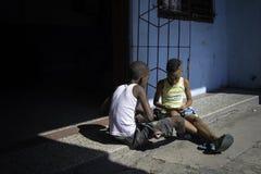 HAVANA, CUBA - 11 DE DEZEMBRO DE 2016 Imagem de Stock Royalty Free