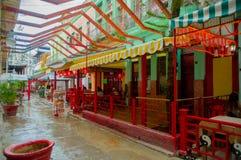 HAVANA, CUBA - 2 DE DEZEMBRO DE 2013: Cidade de China Foto de Stock Royalty Free