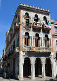 Havana, Cuba: Estilo colonial espanhol Imagem de Stock