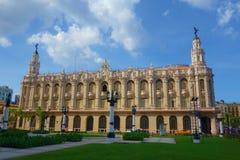 Havana, Cuba - the Grand theatre of Havana is situated on the Paseo del Prado in Havana royalty free stock photo