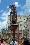Havana, Cuba: Hamel Street Royalty Free Stock Photography