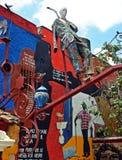 Havana, Cuba: Hamel Street Royalty Free Stock Image