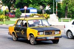 Lada 2107 Royalty Free Stock Images