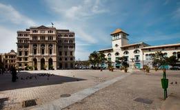 HAVANA, CUBA - JUNI 7, 2011: De stad van Havana, 7de 2011 Royalty-vrije Stock Afbeelding