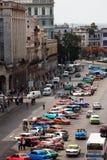 HAVANA, CUBA - JUNI 7, 2011: De stad van Havana, 7de 2011 Royalty-vrije Stock Afbeeldingen
