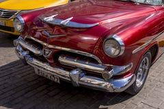 Havana, Cuba Kleurrijke klassieke jaren '50auto's royalty-vrije stock fotografie