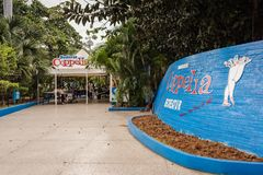 Coppelia Ice Cream Parlor - Havana, Cuba royalty free stock image