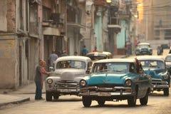 Havana, Cuba, 30 Mei, 2016: Uitstekende auto op de straat van Havana Stock Fotografie