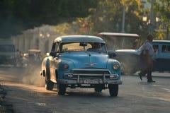 Havana, Cuba, 30 Mei, 2016: Uitstekende auto op de straat van Havana Royalty-vrije Stock Fotografie