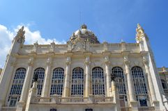 Havana, Cuba: Museum of the Revolution. (former Presidential Palace stock photo