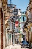Havana Cuba Narrow Street Royalty Free Stock Photo