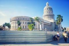 HAVANA, CUBA -NOV 29, 2015. National Capitol building Royalty Free Stock Photos