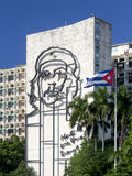 Havana, Cuba - 3 November 2015: National monument of Ernesto Che Royalty Free Stock Image