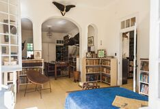 Room of Ernest Hemingway house in Havana