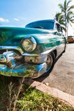 HAVANA, CUBA,  An old American car in Havana Royalty Free Stock Photography