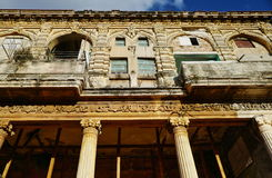 Havana, Cuba. The old building in Havana which is the capital city of Cuba Royalty Free Stock Images