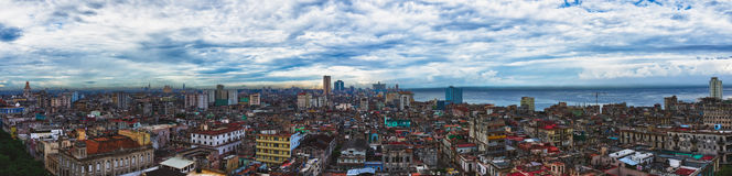 Havana, Cuba. Panorama Royalty Free Stock Photos