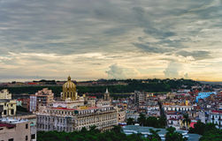 Havana, Cuba. Panorama Stock Photography