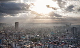 Havana, Cuba, sea view Royalty Free Stock Images