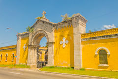 HAVANA, CUBA - SEPTEMBER 1, 2015:The Colon Stock Image