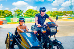 HAVANA, CUBA - SEPTEMBER 13, 2015: Couple of Stock Photos