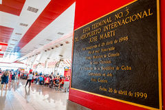 HAVANA - CUBA - SEPTEMBER 5, 2015: Jose Marti Stock Photography