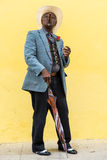 Havana, Cuba - September 27, 2015: Traditional Cuban man posing Royalty Free Stock Photography