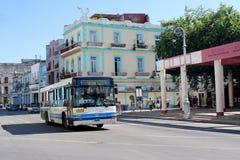 Havana, Cuba Transporte local em havana Imagem de Stock Royalty Free