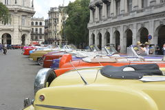 HAVANA CUBA VINTAGE CARS stock photo